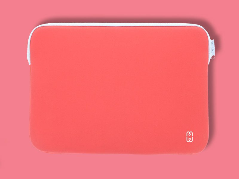 coralred_white_Sleeve_MacBook_air_13_1