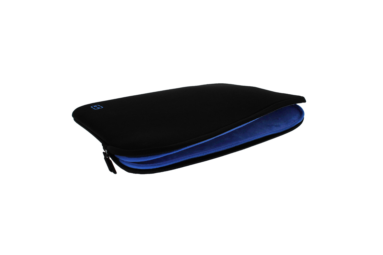 Housse pour macbook pro 15 noir bleu electrique fin for Housse macbook pro 15