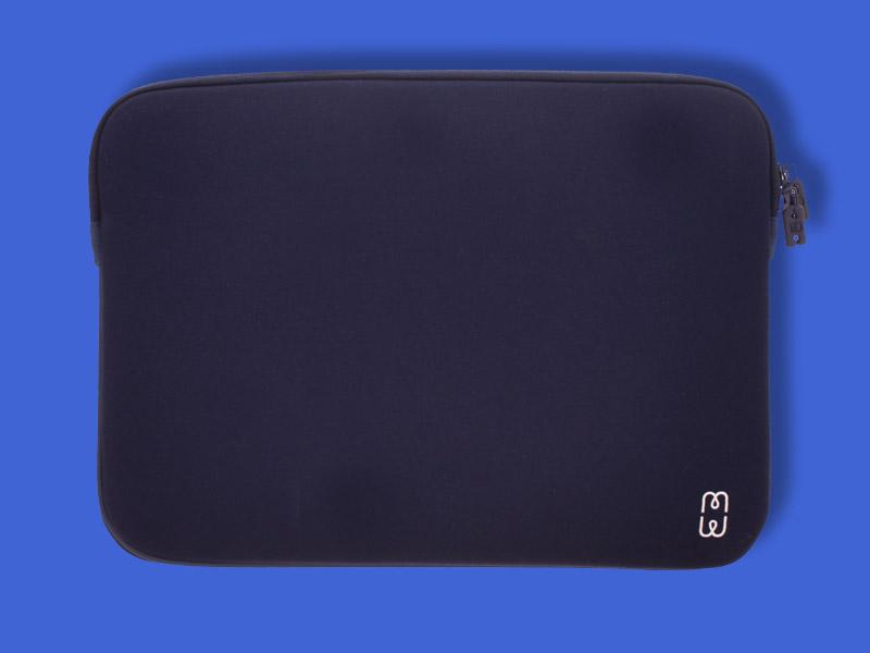 housse pour macbook pro retina 13 quot bleu blanc mw
