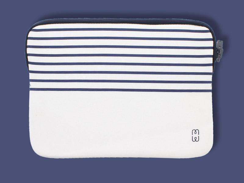 La p'tite housse marine pour MacBook Air 13