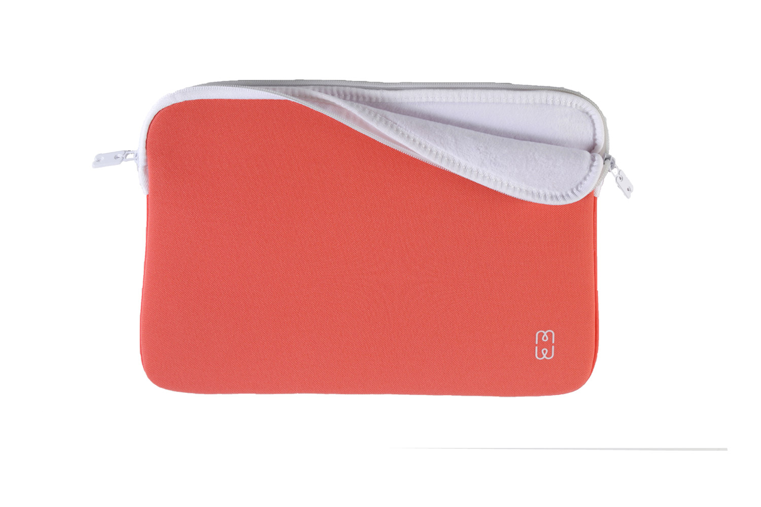 Coral red white sleeve for macbook pro 13 late 2016 2 for Housse macbook air 13
